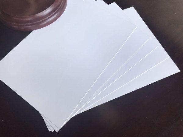 jenis jenis kertas Matt Paper