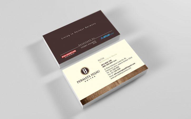kertas untuk kartu nama Brief Card