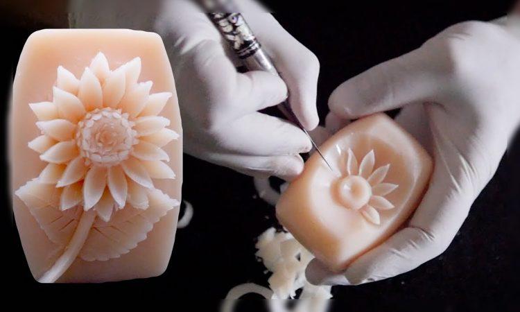 kerajinan dari sabun terunik