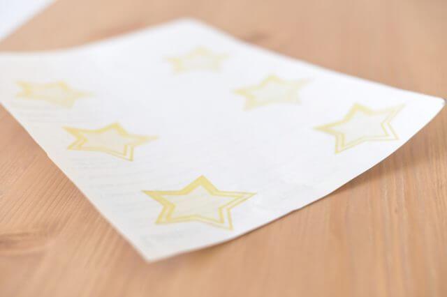 siapkan jenis kertas stiker