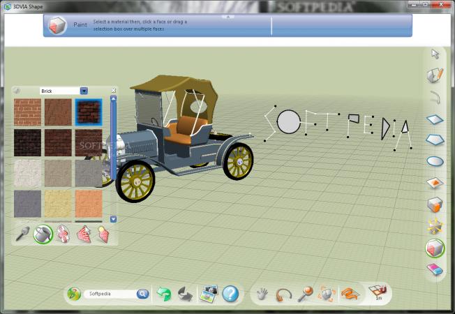 software desain grafis - 3DVIA Shape