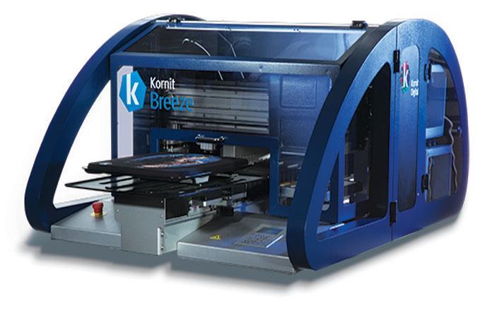 mesin sablon kaos - Mesin Printer Kornit Breeze