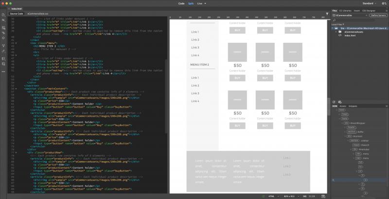 software desain grafis - adobe dreamweaver