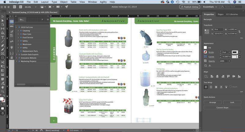 software desain grafis - adobe indesign