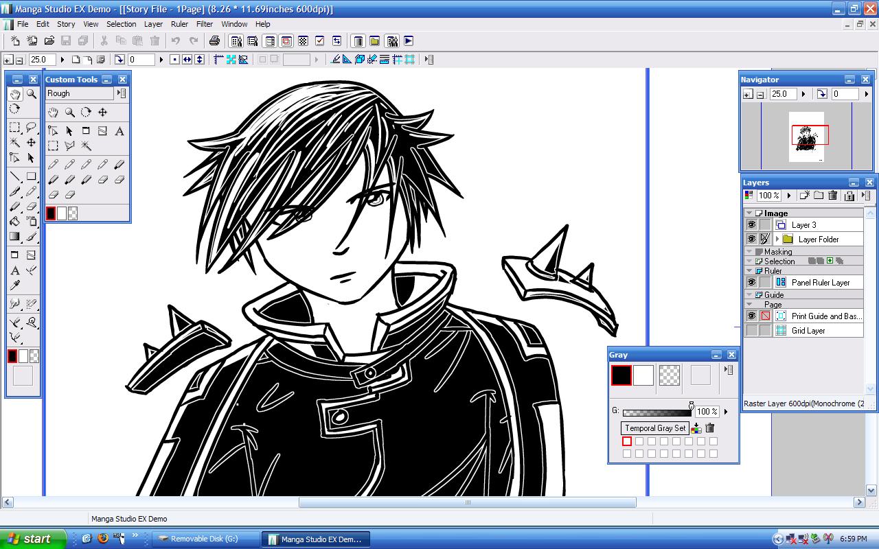software desain grafis - manga studio