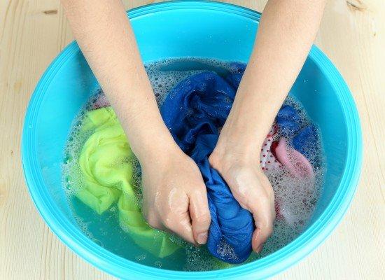 merawat sablon rubber - tahap mencuci