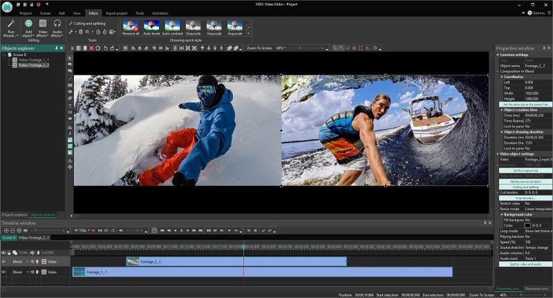 jenis desain grafis - video editor