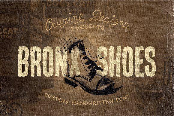 Font Bronx Shoes