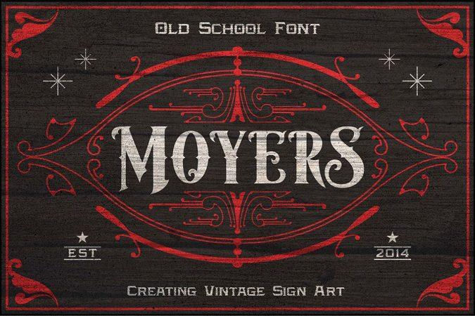 Font Moyers