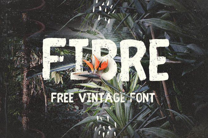 Font Vintage – Fibre