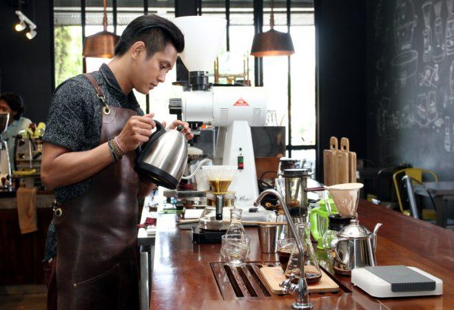 apa itu barista kopi