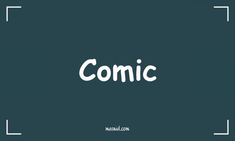 jenis jenis font - font comic