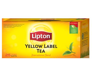 merk teh hitam - teh lipton