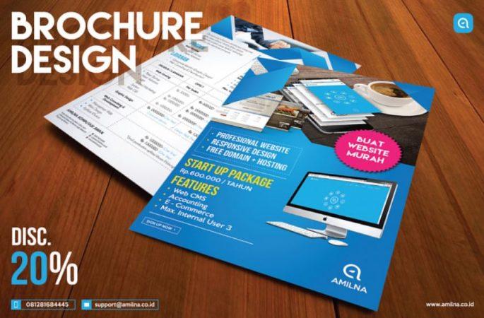 brosur promo