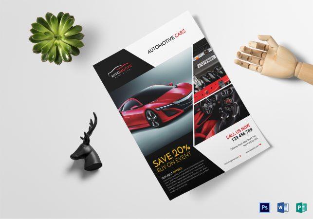 contoh brosur mobil