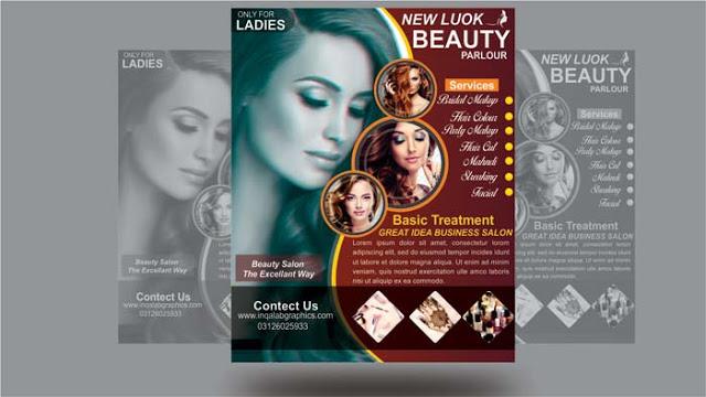 contoh brosur salon